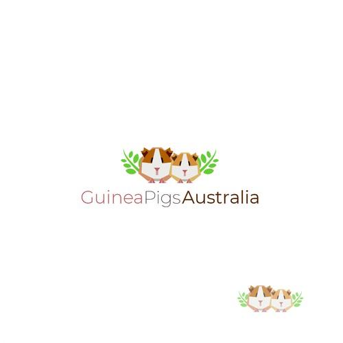 Finalist for Guinea Pigs Australia logo