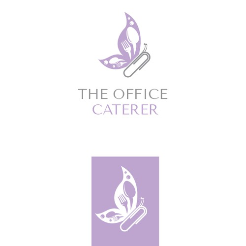 Clever logo for The Office Caterer