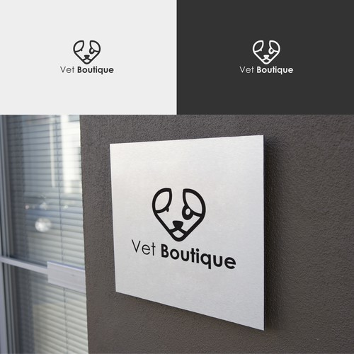 logo for vet boutique