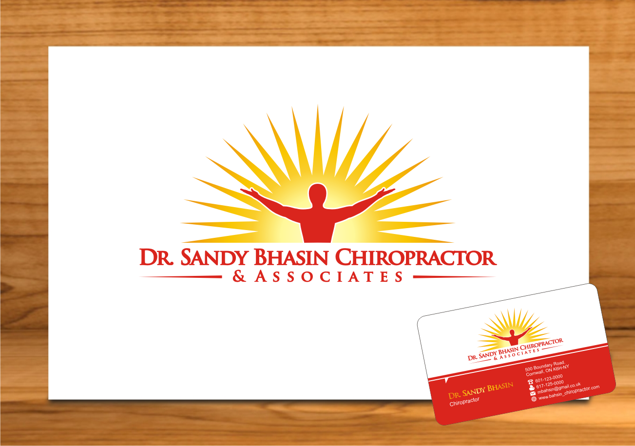 Help Dr. Sandy Bhasin Chiropractor and Associates with a new logo