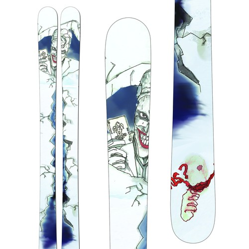 SNOW SKI DESIGN FOR A WORLD SKI COMPETITON FROM SEVEN PEAKS