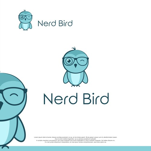 A logo for Nerd Bird