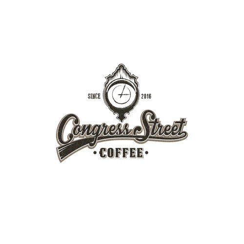 Vintage Logo concept for a Coffee shop