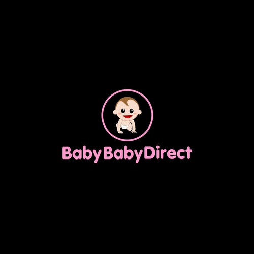 logo concept for baby baby direct
