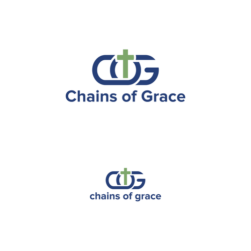 Create a logo to convey compassion for Chains of Grace