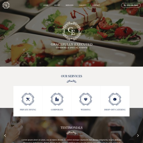 Catering Company Template