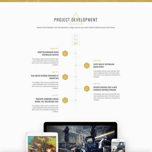Triforce Landing Page