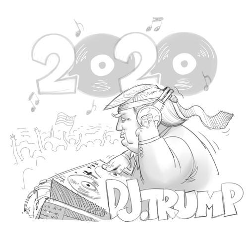 DJ Trump t-shirt