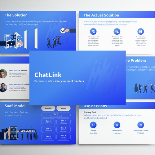 Powerpoint Presentation for ChatLink