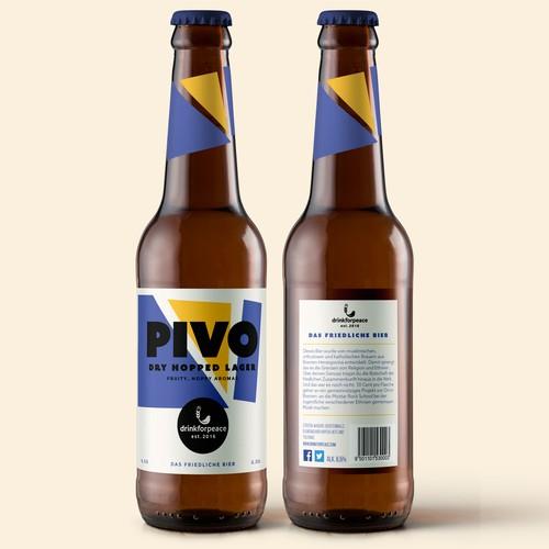 Bold & Minimalist beer design concept