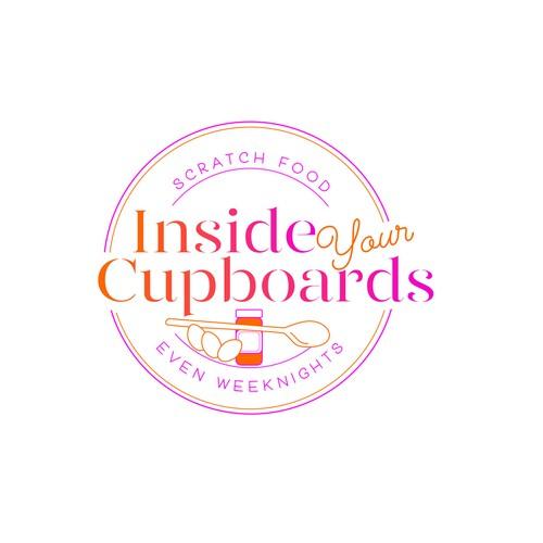Logo for food blogger