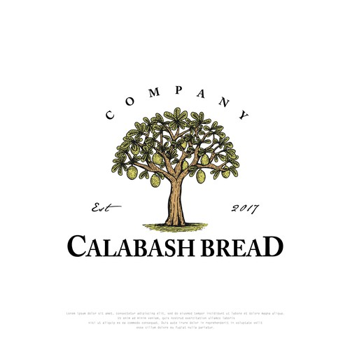 Vintage Logo design for Calabash Bread Company