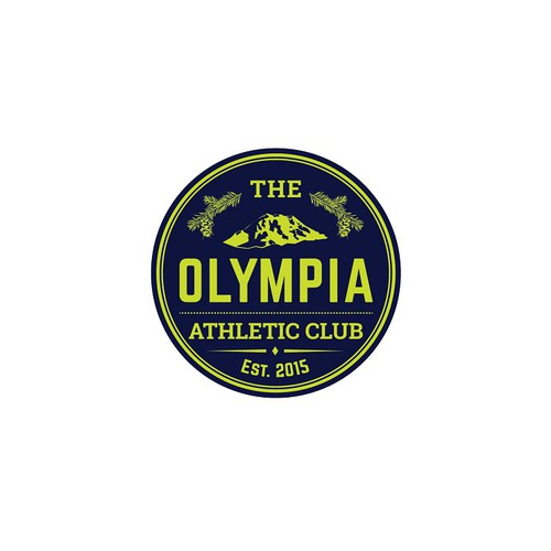 Create a logo for Olympia, Washington's newest fitness center and health club!