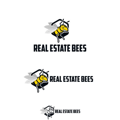 iconic concept of bees
