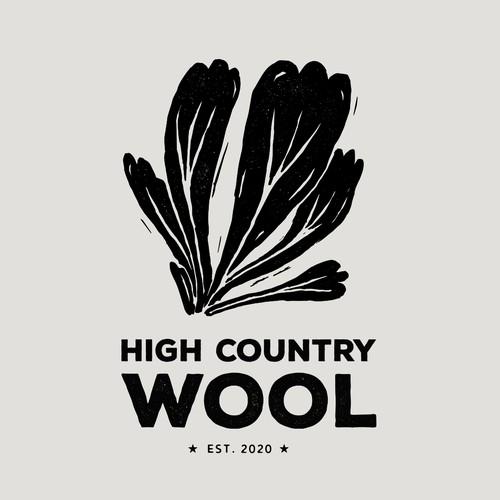 Logo for a wool farm