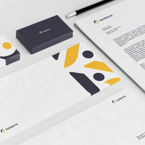 Playful brand identity concept for Bolterra.