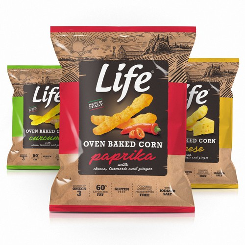 Life Corn Snacks