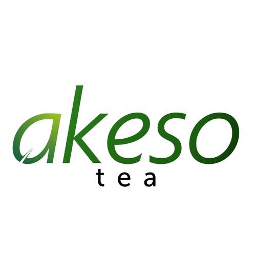 Natural feel logo for AKESO TEA