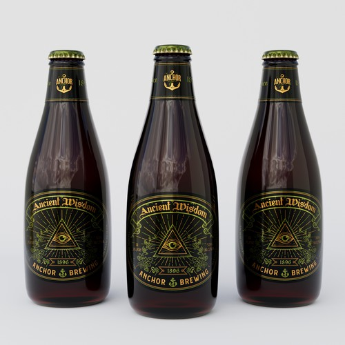 Fun project for America's oldest craft brewery, Anchor Brewing Co.!