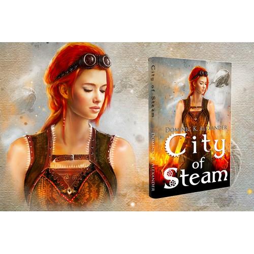 Create a book cover for a fantisy novel