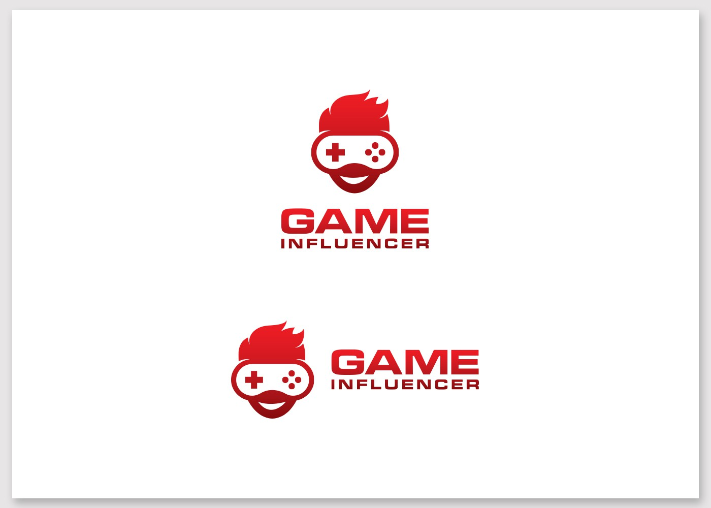 Create the Logo of GameInfluencer.com, the market place where game developers meet their influencers