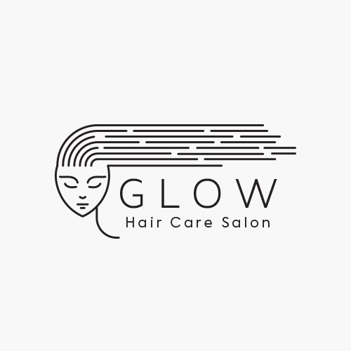 Glow Hair Care Logo