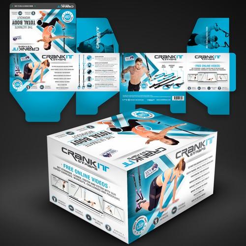 Packaging Design for CrankIt Fitness