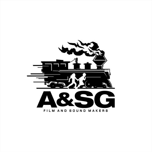 Logo for A&SG Film and Sound Makers
