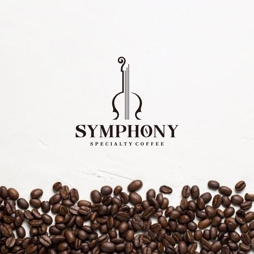 creative coffe logo