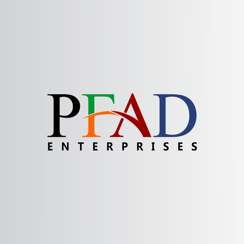 Create the next logo for PFAD Enterprises, PFAD Ent. or just PFAD works as well.