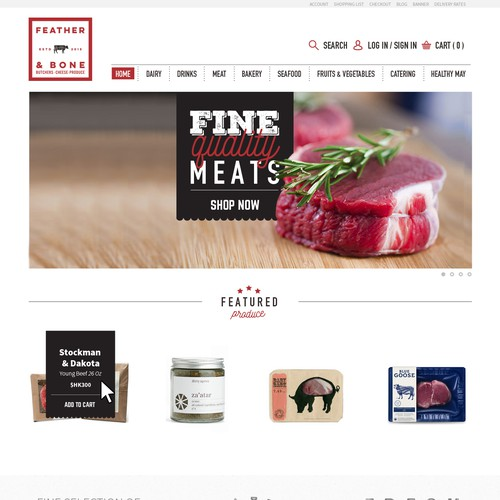 Gourmet Food Ecommerce