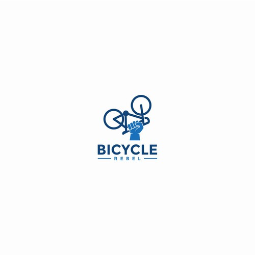 Strong & bold logo for Bicycle Rebel