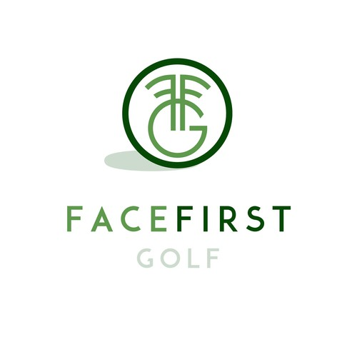 Face first golf Logo