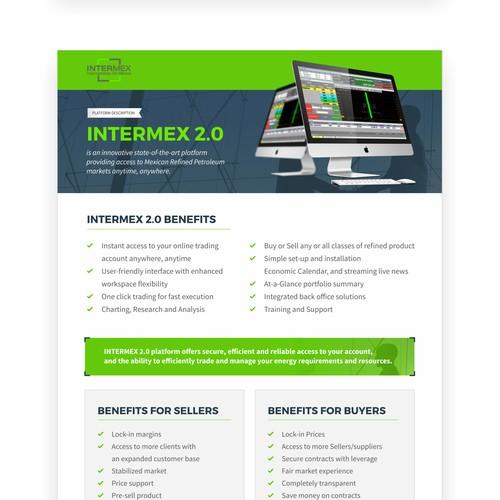 Intermex Flyer Design