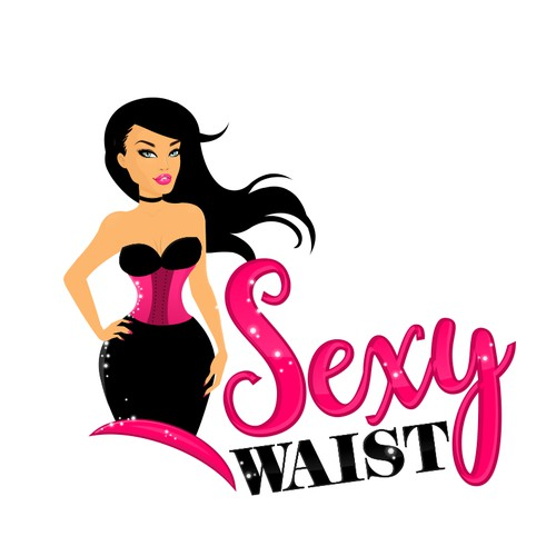 Sexy logo for waist trainers