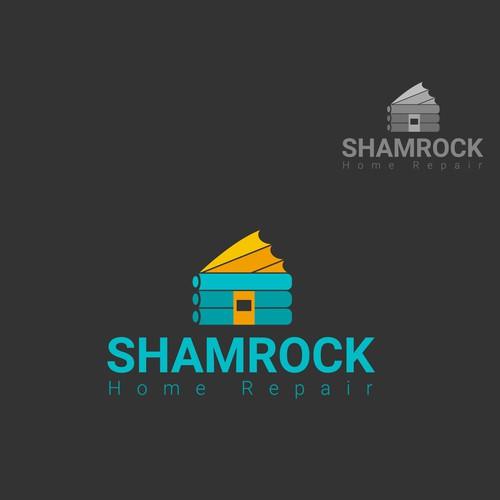 Logo concept for home repair