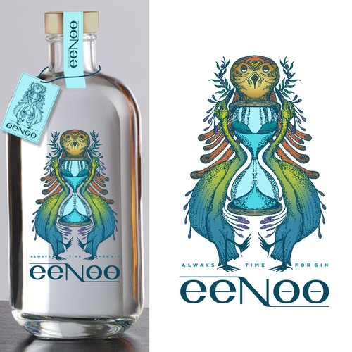 eeNoo label design