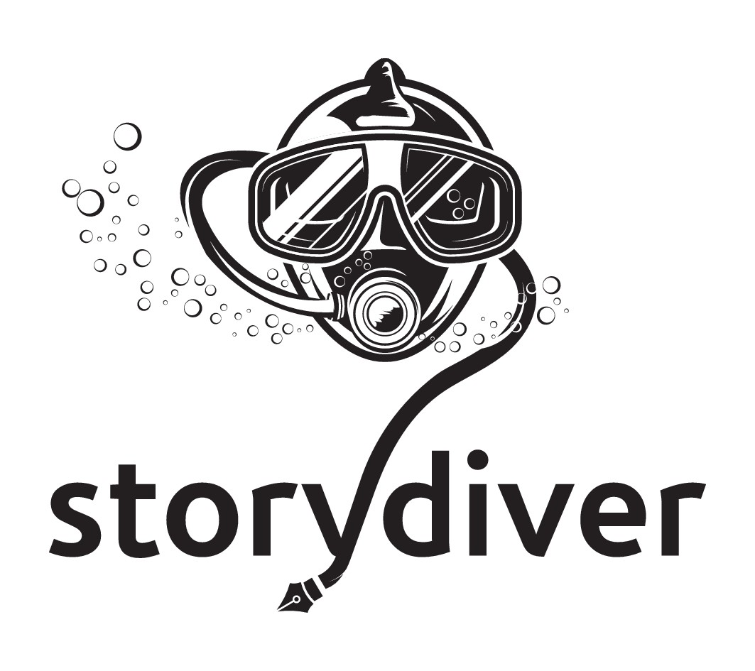 Visualise the phenomenon of diving into the unknown of a story