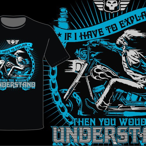 Lets create the best biker T-shirts