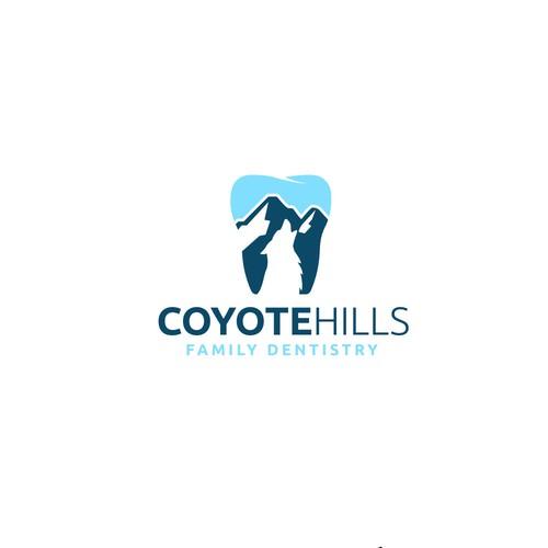 teeth + cayote and mountain