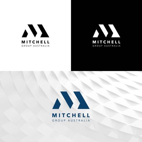 Modern Logo concept for Mitchell Group Australia