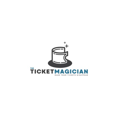 Logo design concept for ticketing company