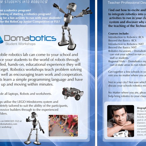 Flyer for Robotics classes
