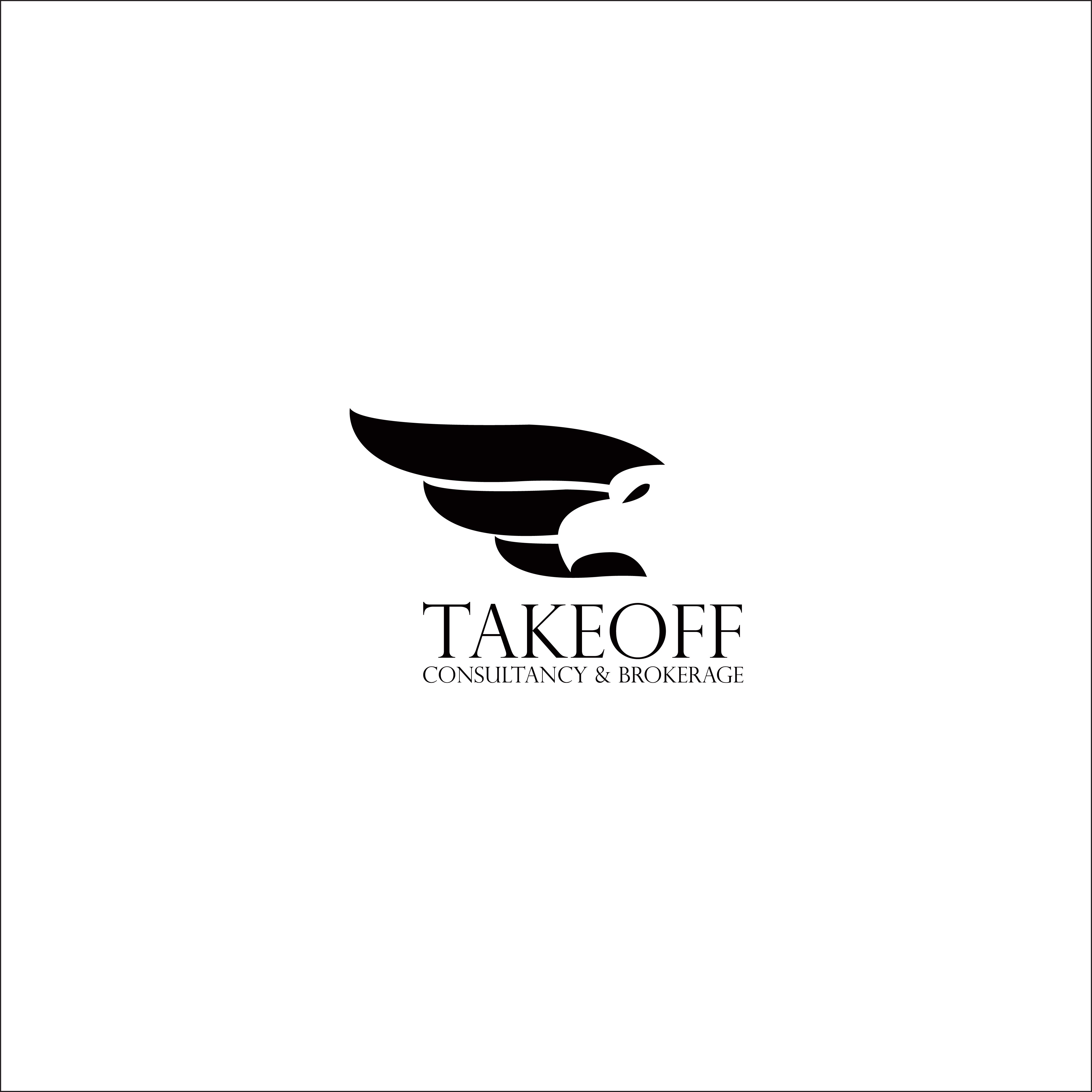 Create a sleek and modern design for takeoff consultancy!