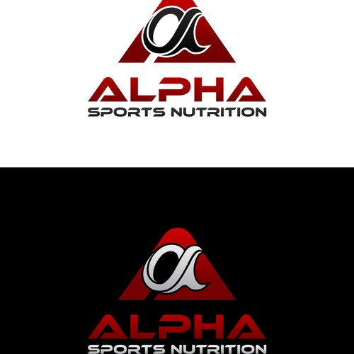Create a sharp, strong insignia for a new performance supplement company.