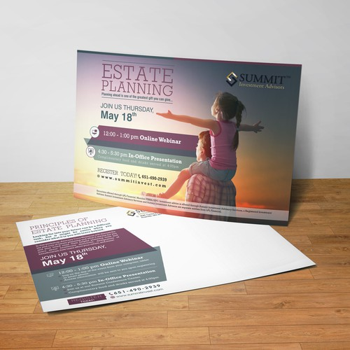 POSTCARD AND WEB BANNER DESIGN