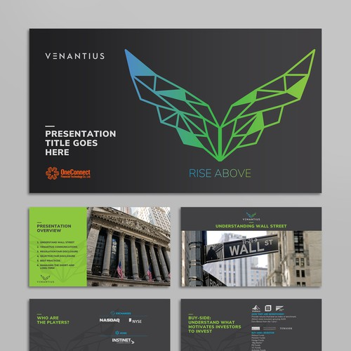 Sleek PowerPoint design