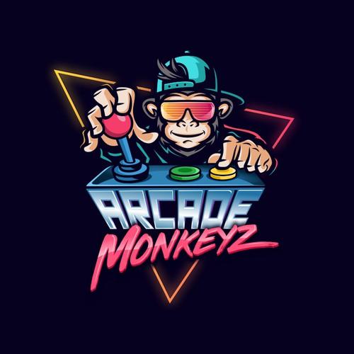 Logo proposal for Arcade Monkeyz