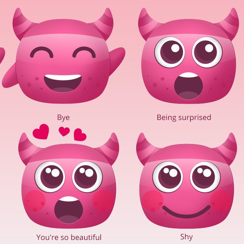 Emotions for a dating app