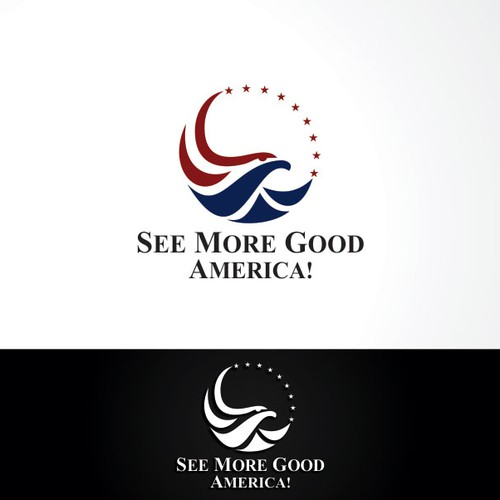 Create an engaging visual for See More Good America!